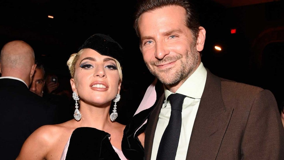 Lady Gaga and Bradley Cooper at the 2018 Toronto International Film Fest