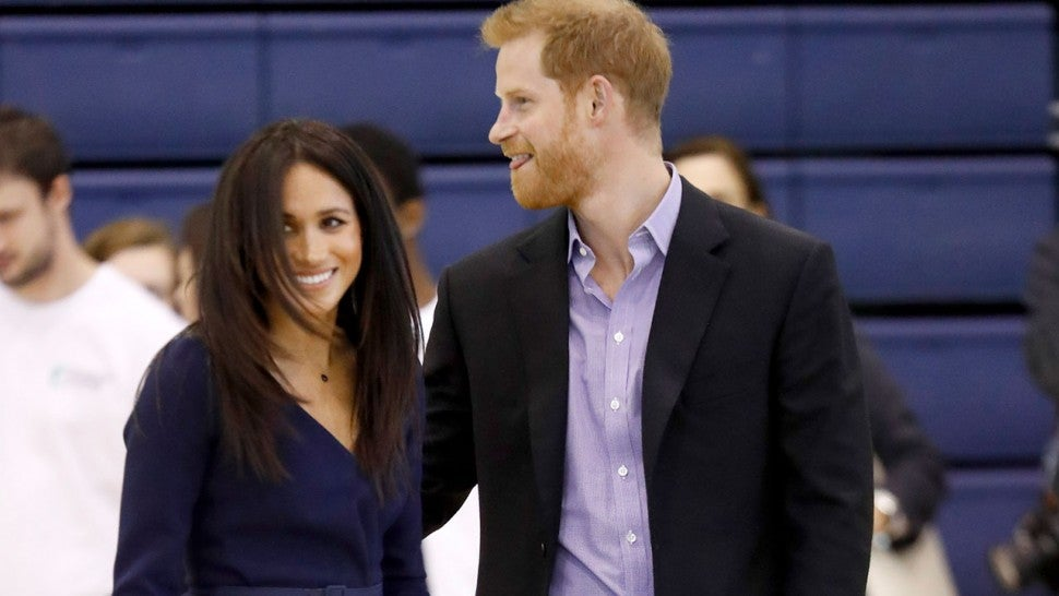 Prince Harry and Meghan Markle play ball for a good cause