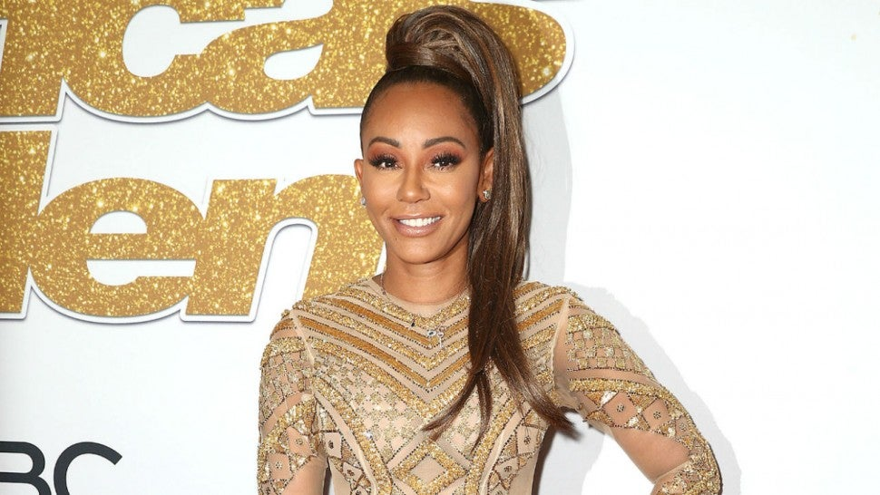 Mel B on the mend after herpes infection made her temporarily blind