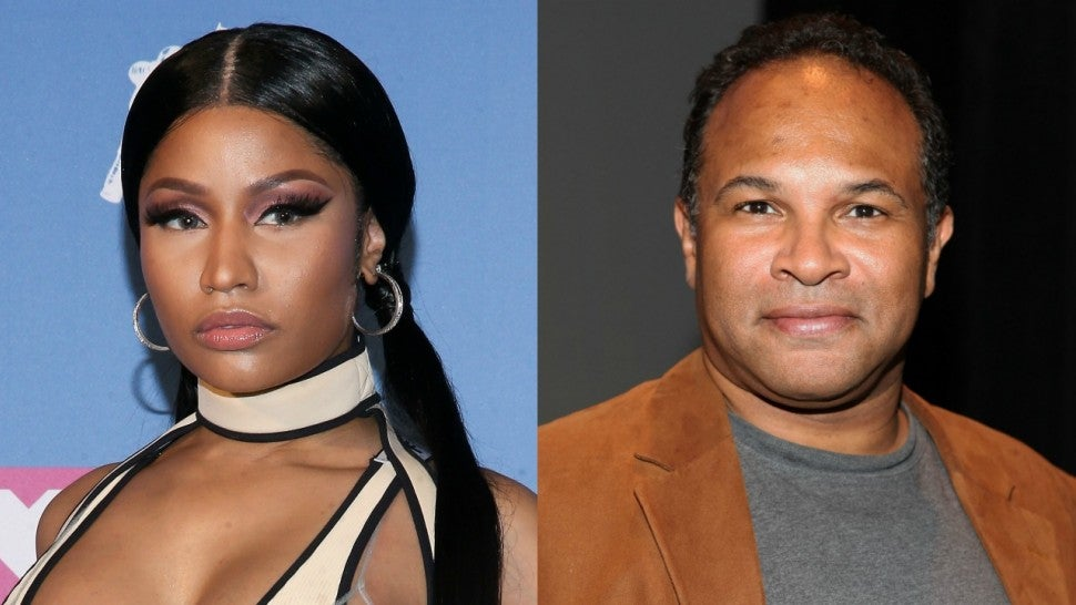 Nicki Minaj Says She's Donating $25k to 'Cosby Show' Star Geoffrey Owens