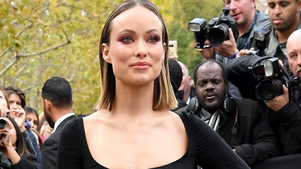 Olivia Wilde at the the Valentino fashion show during Paris Fashion Week on Sept. 30