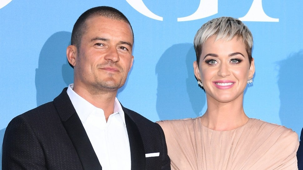 Orlando Bloom and Katy Perry walk first red carpet together