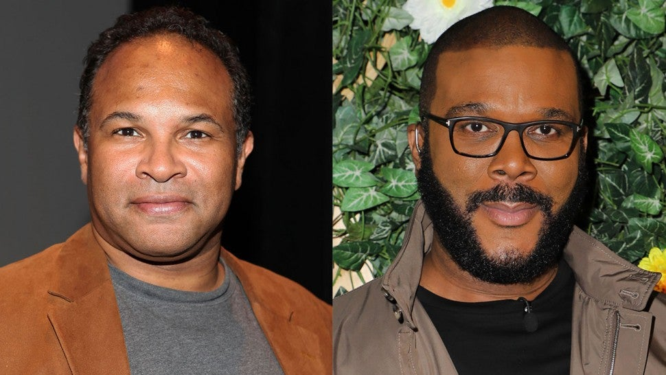 Geoffrey Owens and Tyler Perry