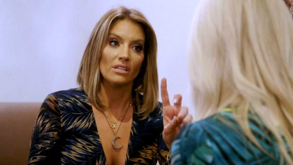 Cary Deuber points her finger at Kameron Westcott on 'The Real Housewives of Dallas.'