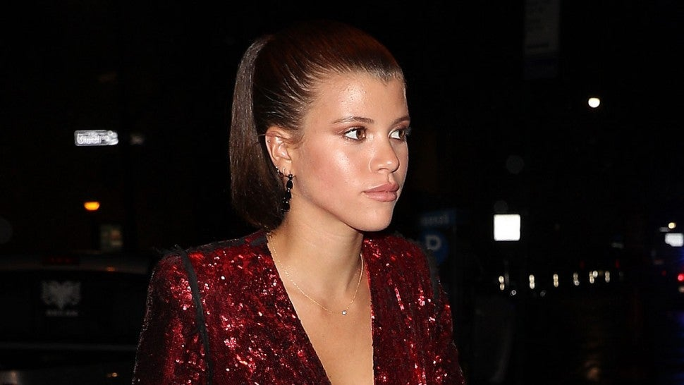 sofia richie hits the town without scott disick following his kuwtk