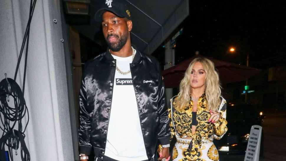 Tristan Thompson and Khloe Kardashian