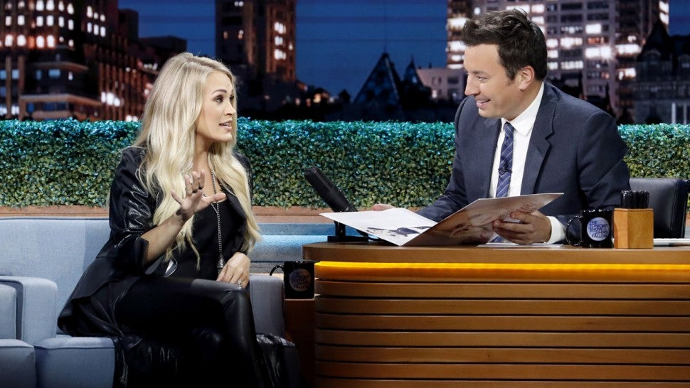 Carrie Underwood Tonight Show