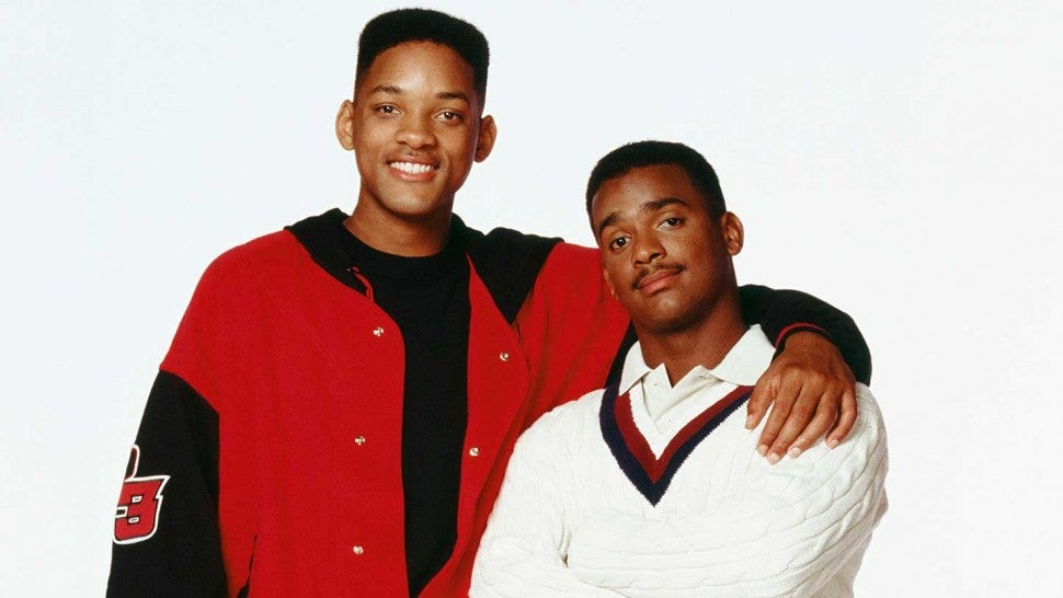 Will Smith and Alfonso Ribeiro from 'The Fresh Prince of Bel-Air' Press Shoot