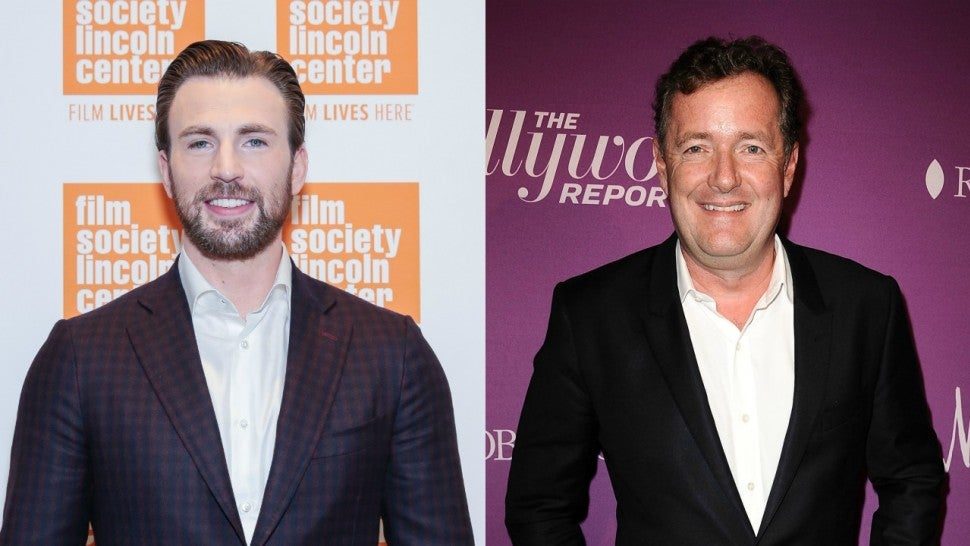 Piers Morgan, Chris Evans