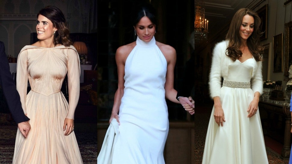 5fdd9768 How Princess Eugenie's Wedding Reception Dress Compares to Kate Middleton  and Meghan Markle's