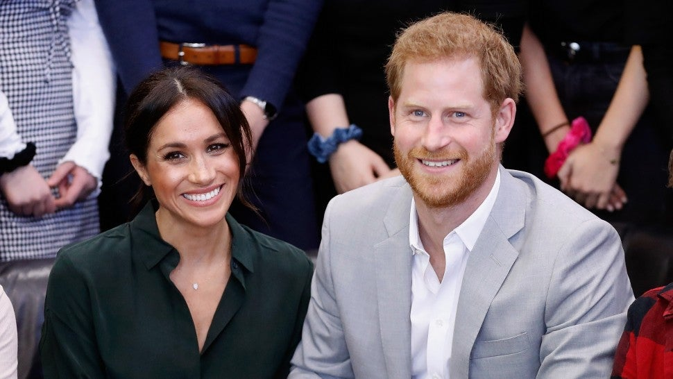 Meghan Markle Attends Reception With Prince Harry After Missing First Event