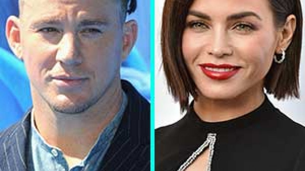 Channing Tatum and ex Jenna Dewan
