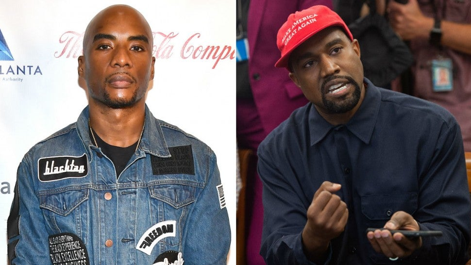 Charlamagne Tha God and Kanye West