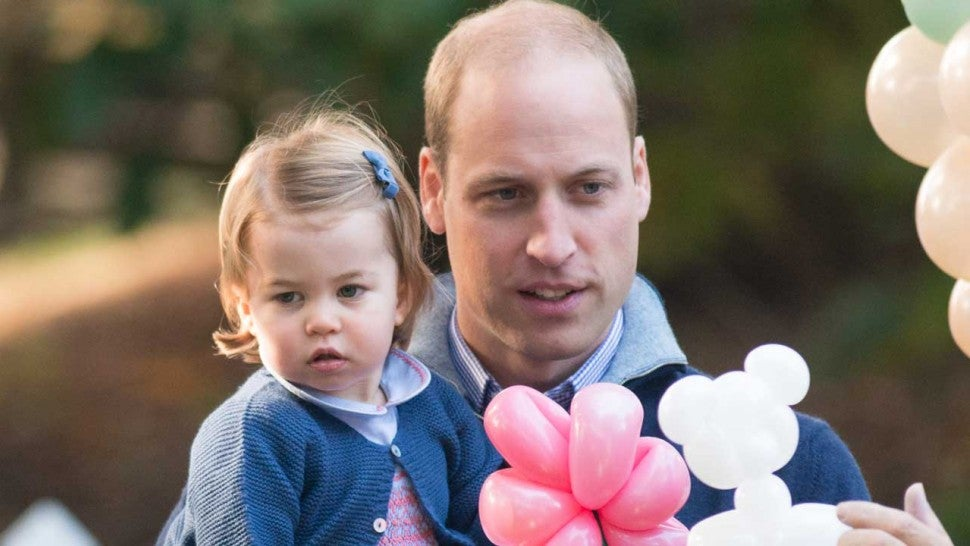 Prince William and Daughter Princess Charlotte