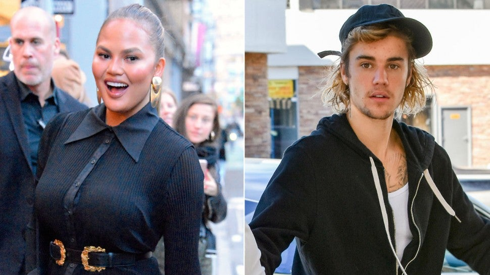 Chrissy Teigen Sides With Justin Bieber in the Burrito Eating Scandal