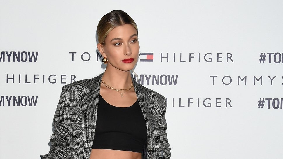 Hailey Baldwin trademarks her married name