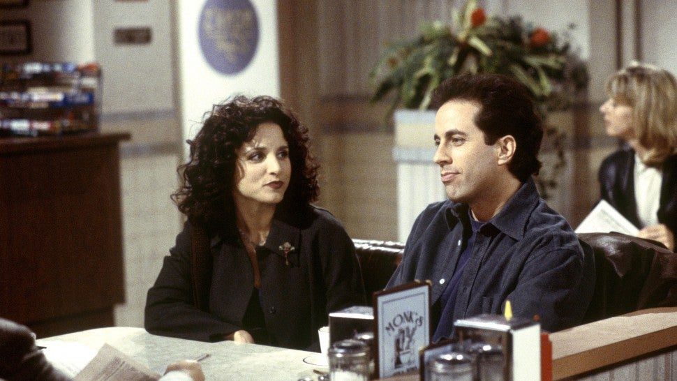 Jerry Seinfeld Julia Louis-Dreyfus
