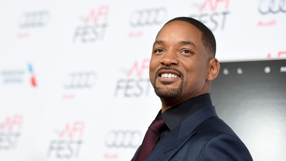 Will Smith Teases New 'Aladdin' Movie With First Look At Poster