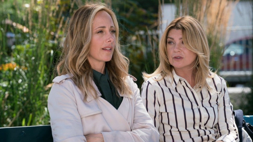 Greys Anatomy Kim Raver Talks Teddys Tumultuous Baby Secret