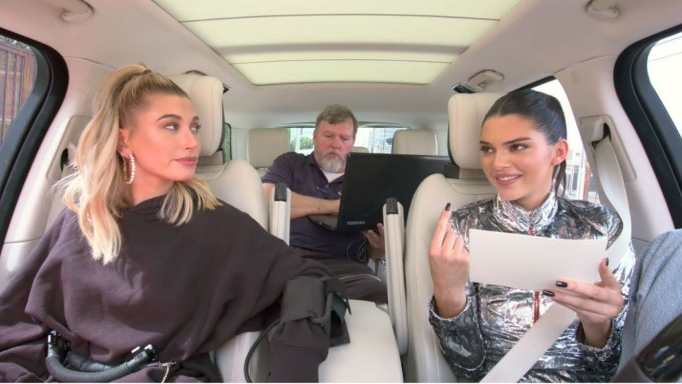 Watch Kendall Jenner Give Hailey Baldwin a Lie Detector Test