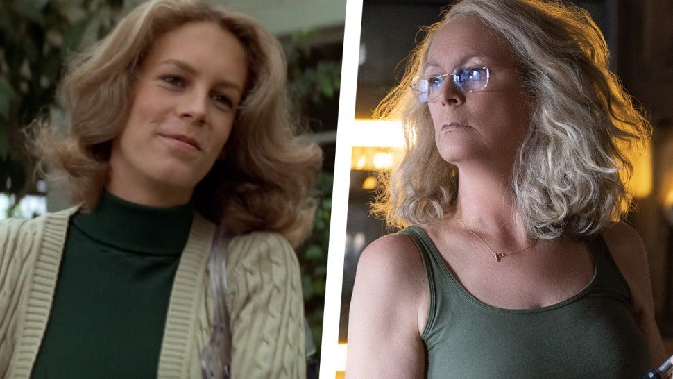 Image result for halloween laurie strode now and then