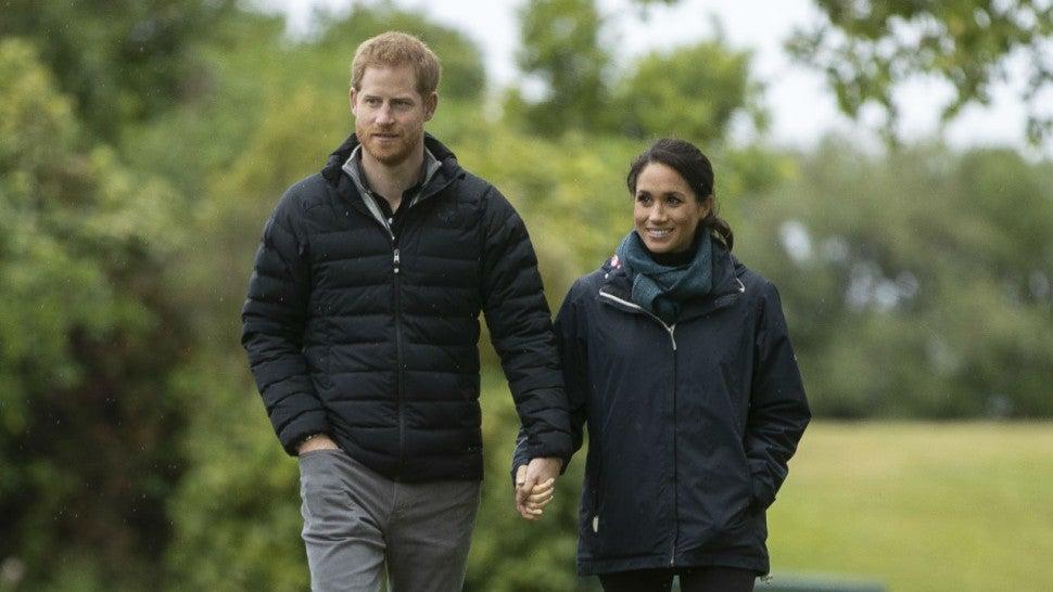 Pangeran Harry hanya ingin kehidupan pribadinya dan Meghan Markle tak jadi konsumsi publik (dok. Entertainment Tonight)