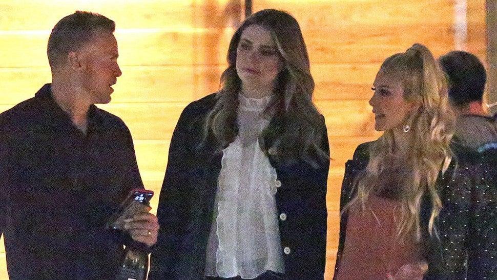Heidi Montag And Spencer Pratt Mischa Barton Seen Fil...