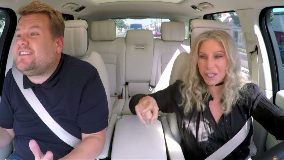 Barbra Streisand Joins James Corden for Carpool Karaoke