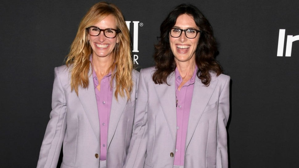 Julia Roberts and Elizabeth Stewart