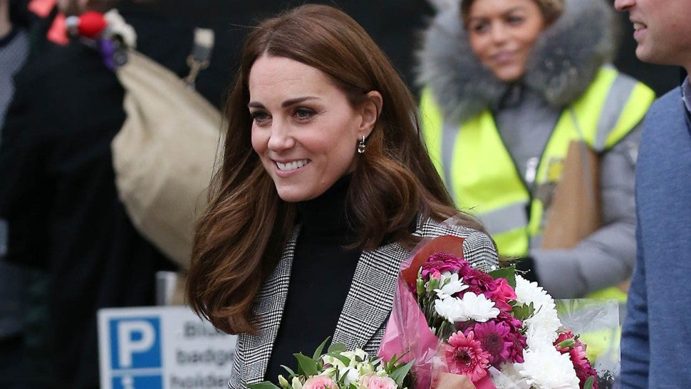 Catherine, Duchess of Cambridge reads first hand her family's poignant WWI story