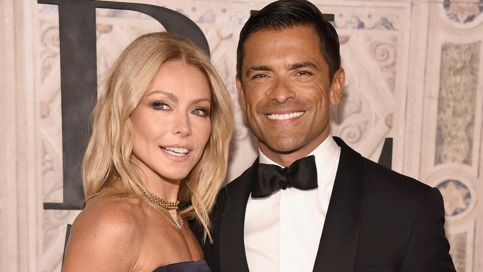 fc70bc0404595 Kelly Ripa and Mark Consuelos Show Off Their Insanely Fit Physiques in Matching  Swimsuits