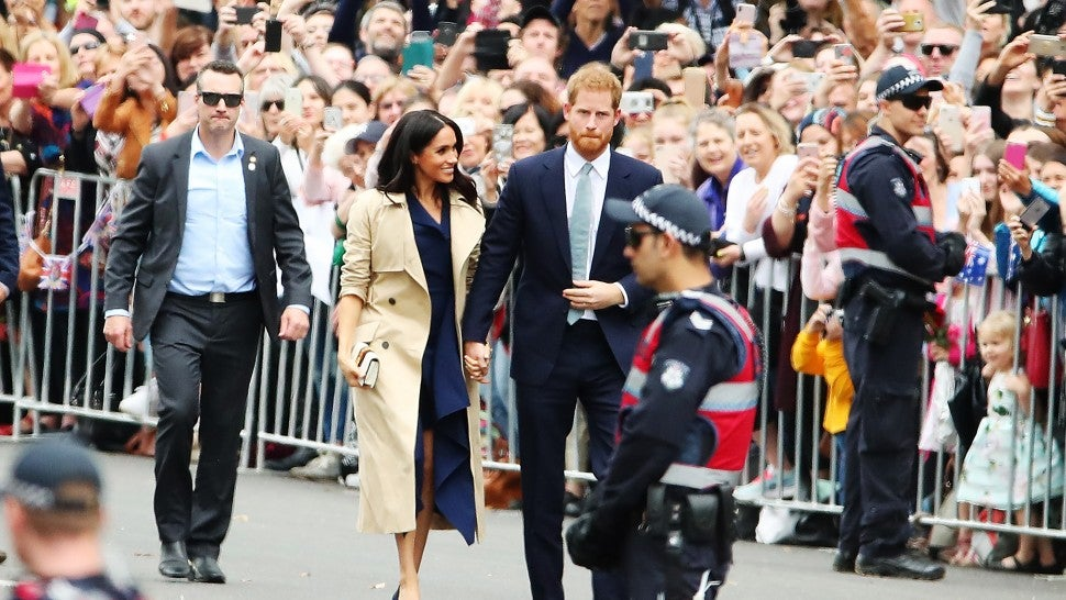 Meghan Markle and Prince Harry Touch Down in Melbourne on Day 3 of Royal Tour