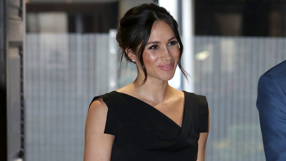 Meghan Markle attends Princess Eugenie's royal wedding wearing Givenchy