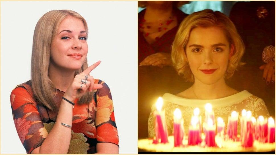 Sabrina the teenage witch nacked