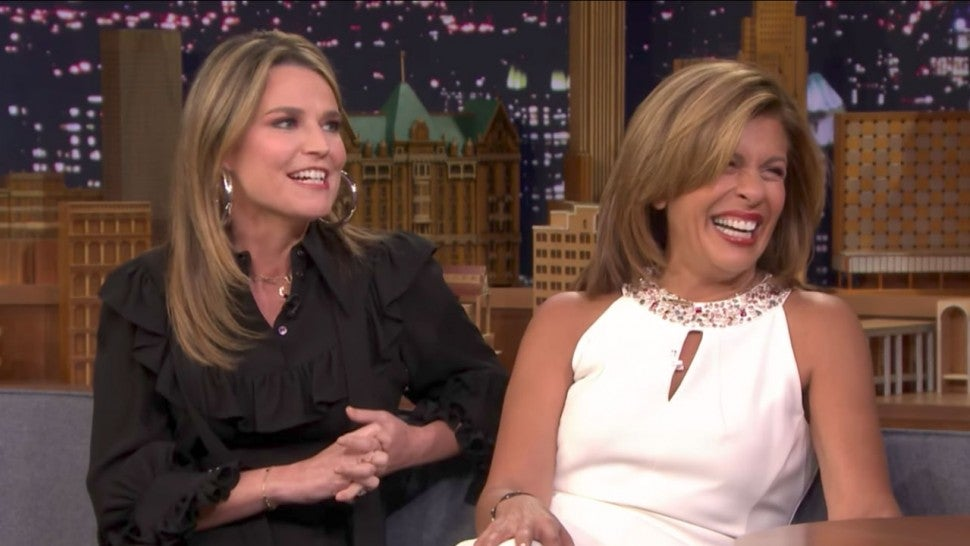 Savannah Guthrie And Hoda Kotb Spill Details On Today Show Halloween And Their Kids Costumes Entertainment Tonight