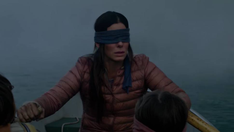 Sandra Bullock, 'Bird Box' trailer
