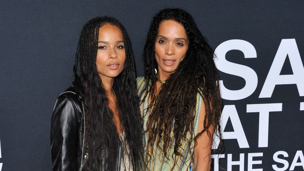 Zoe Kravitz Recreates Mom Lisa Bonet S Nude Rolling Stone