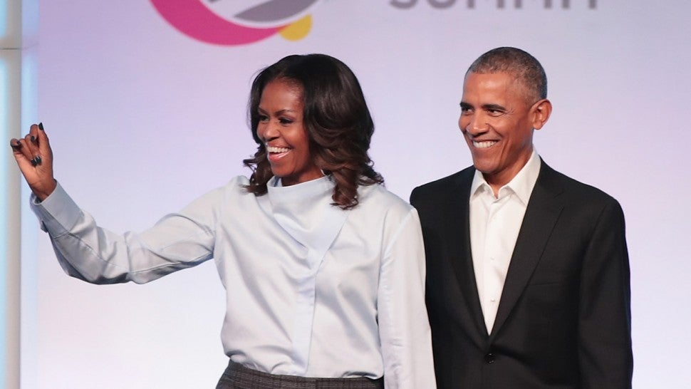 barack and michelle obama bust out adorably cheesy dance moves on