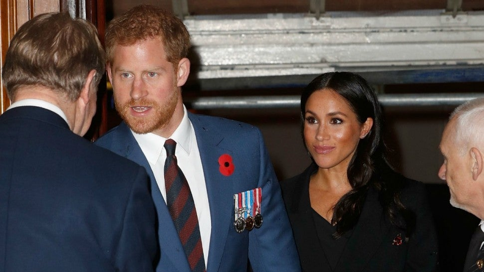 meghan markle and prince harry step out with kate middleton and prince william for remembrance day entertainment tonight meghan markle and prince harry step out