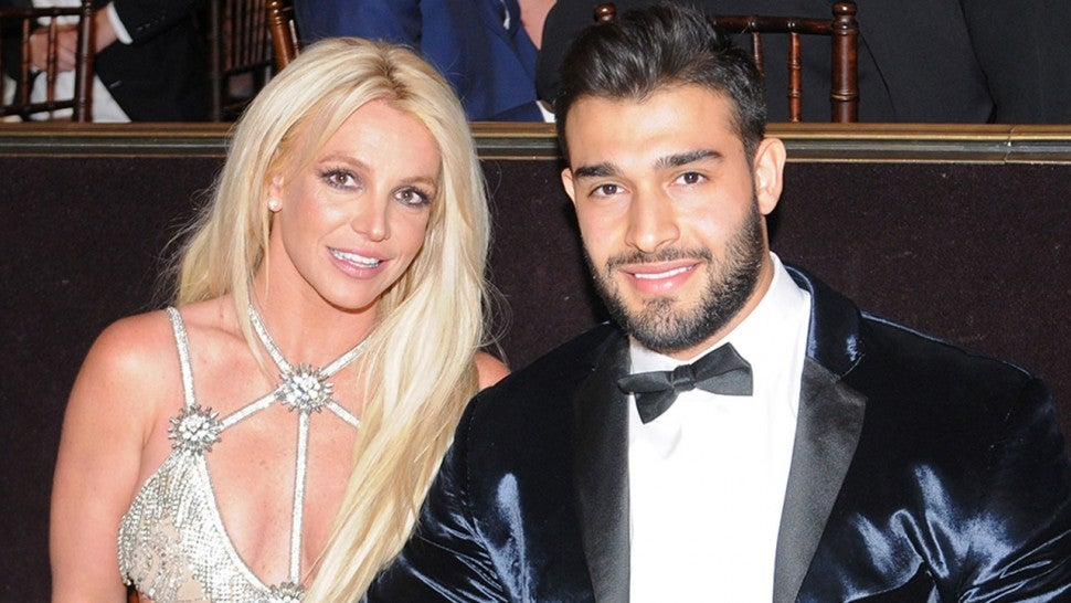 Britney Spears and Sam Asghari at GLAAD event