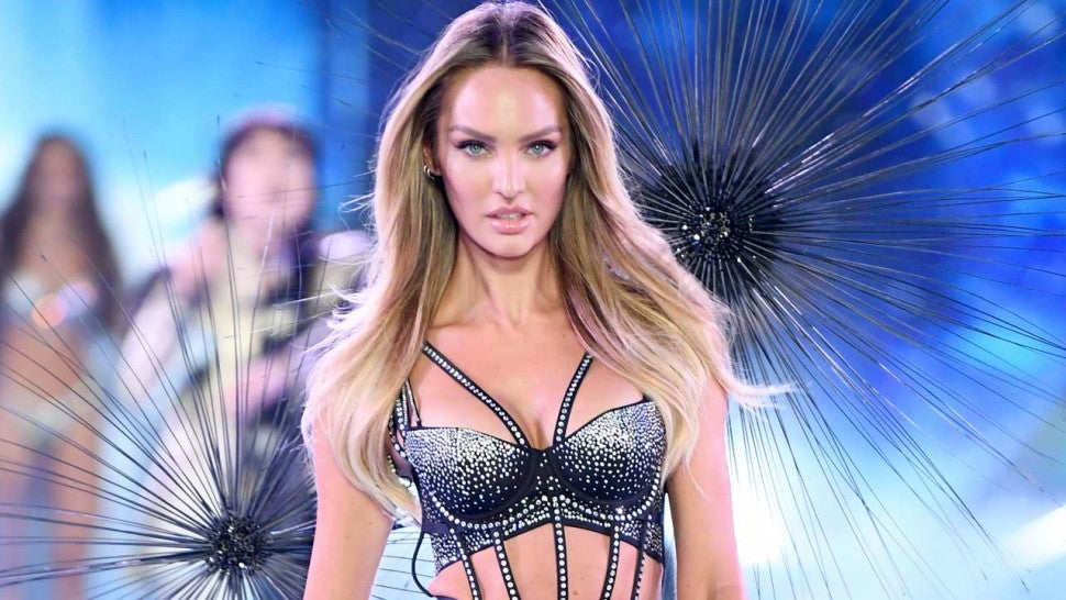 Candice Swanepoel Flaunts Flawless Figure On Victoria S