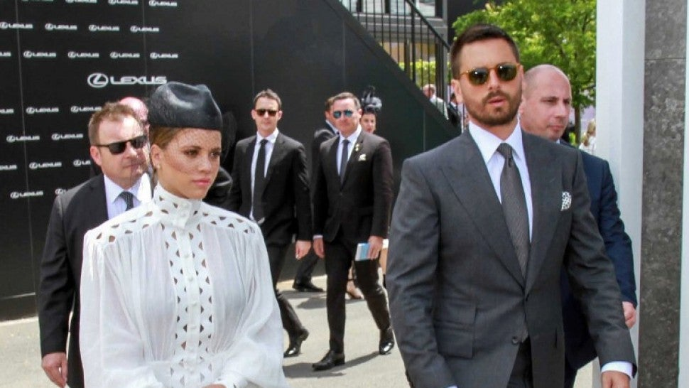 Scott Disick and Sofia Richie Go Glam for Derby Day in Melbourne