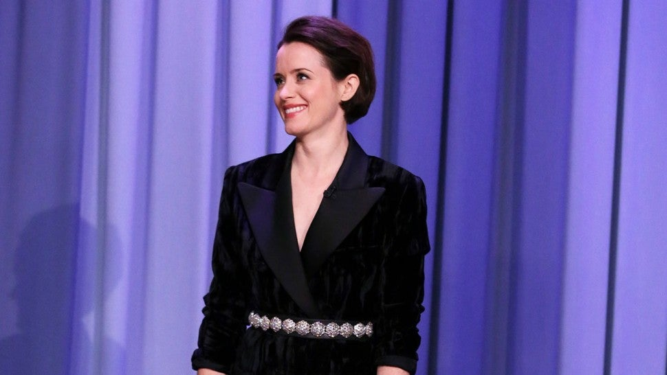 Watch 'The Crown' Star Claire Foy Rap All of 'Rapper's