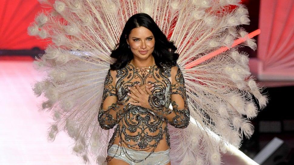 37b7db7114 Adriana Lima Bids Farewell to Victoria s Secret Fashion Show After Nearly  20 Years