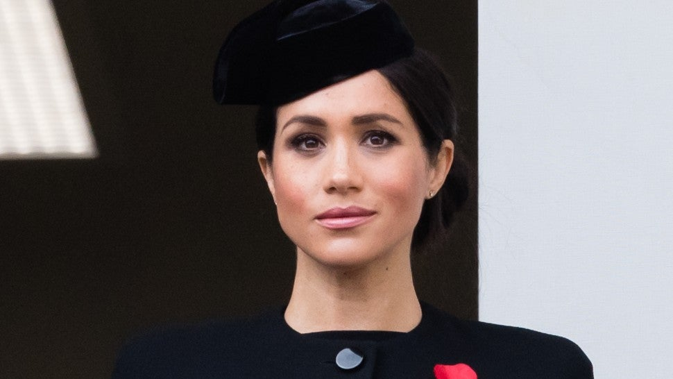 Meghan Markle at Remembrance Sunday memorial