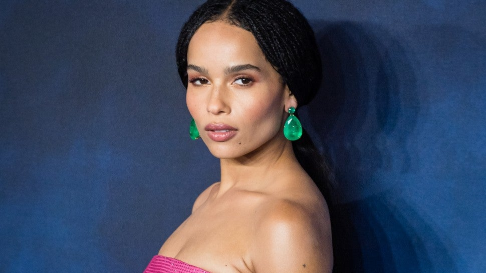 Zoe Kravitz at the UK Premiere of Fantastic Beasts: The Crimes Of Grindelwald