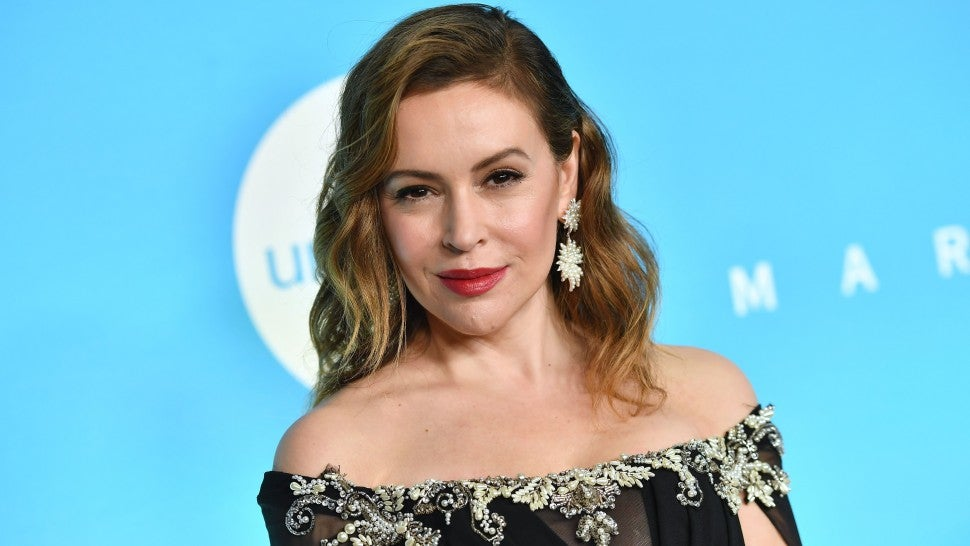 Alyssa Milano at unicef gala