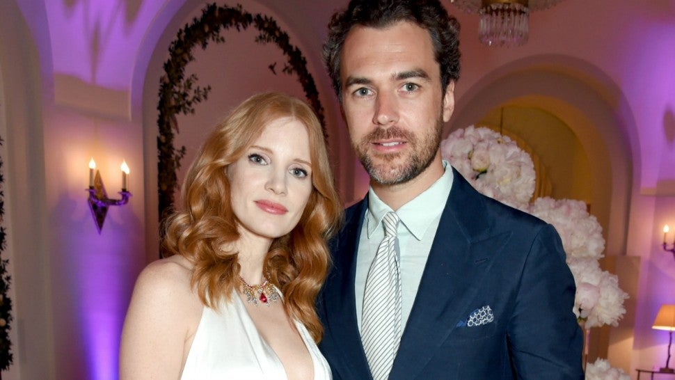 Jessica Chastain and husband