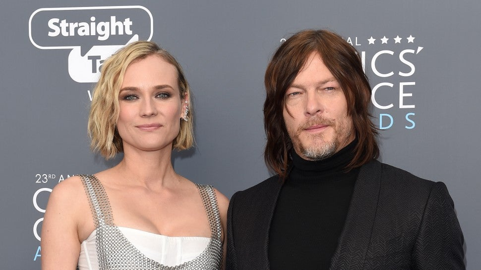Diane Kruger and Norman Reedus - 23rd Annual Critics Choice Awards