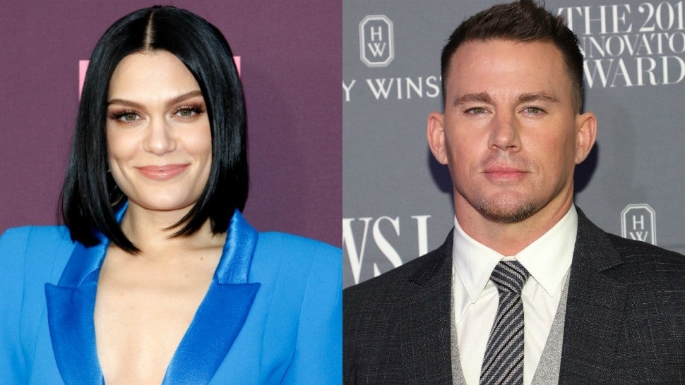 Not hiding! Channing Tatum gushes over Jessie J on Instagram